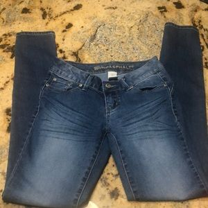 Beautiful blue jeans blue asphalt size 1